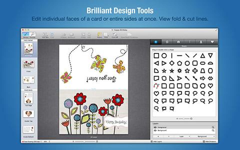 版式设计粘贴画- Mac 封面版面设计打印APP