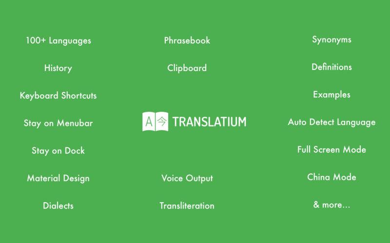 Translatium 12.0.0 优秀的在线翻译工具-马克喵